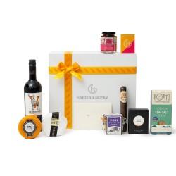 Luxury Artisan Cheese & Wine Gift Box Hamper |'No Nonsense'