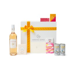 Rosé Tinted Glasses - Luxury Summer Rosé Gift Box Hamper