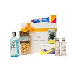 Luxury Gin & Tonic Gourmet Gift Box Hamper | Forgive Me Father, For I have 'Ginned'