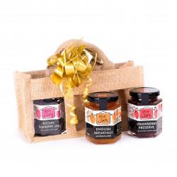 Hessian Gift Bag (Pick 3 jars)
