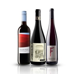 Summer Wine Selection - 3 Bottles of Organic Red Wine