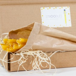 Stroodles - Sustainable Pasta Drinking Straws (Pack of 20)