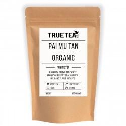 Pai Mu Tan (Bai Mu Dan) Organic (No.203) - Loose Leaf White Tea