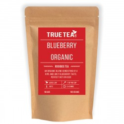 Blueberry Rooibos Tea (No.605) - Loose Leaf Organic Red Bush Tea