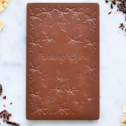 'Thinking of You' Vegan Milk Chocolate Plaque