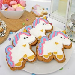 Gingerbread Unicorns | Unicorn Party Pack (Pack of 10)