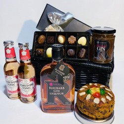 Rhubarb Gin Celebration Hamper
