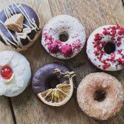 Vegan Mixed Donut Box - Box of 6