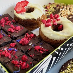 Norah's Afternoon Tea with Bronuts or Scones (Gluten Free, Dairy Free, Refined Sugar Free)