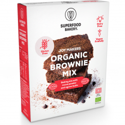 Organic Joy Maker Brownie Mix: Gluten Free, Dairy Free, Vegan Friendly and Deliciously All-Natural Brownie Mix (Makes 12 Brownies)