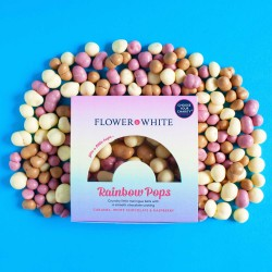 Rainbow Pops Meringue Balls (Charity Product) - Set of 4 Boxes