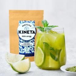 Iced Mint Matcha | Organic | Japanese | 0% Sugar | Shake & Go!