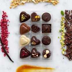 Mixed Artisan Vegan Chocolate Truffle Gift Box