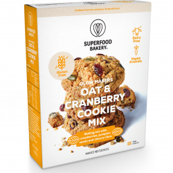 Oat & Cranberries Organic Cookie Mix | Gluten-Free