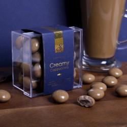 Creamy Cappuccino - Coffee Flavoured Luxury Milk & Dark Chocolates. Cube Box