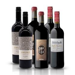 Organic Classic Reds Gift Box - 6 Bottles of Red Wine
