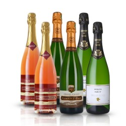 Crémant Gift Box - 6 Bottles of French Organic Sparkling Wine