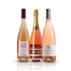 Organic French Wine Selection - 3 Bottles of Rose Wine