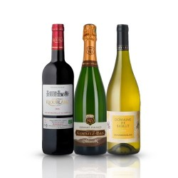 Organic French Mixed Case - 3 Bottles Of Wine