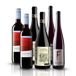 Summer Wine Selection - 6 Bottles of Organic Red Wine