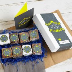 'It's A Boy' Vegan Brownie Box