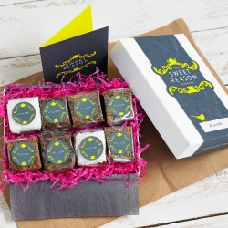 'It's A Girl' Gluten Free Brownie Box