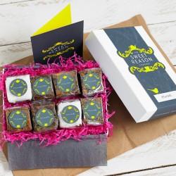 'It's A Girl' Vegan Brownie Box