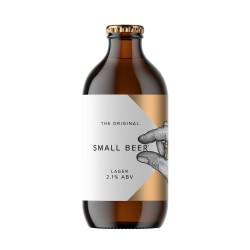 Small Beer Lager 2.1% ABV (6pack x 350ml)