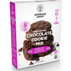 Chocolate Chip Cookie Mix : Gluten Free, Dairy Free, Vegan Friendly and Deliciously All-Natural Cookie Mix (Makes 12 Cookies)