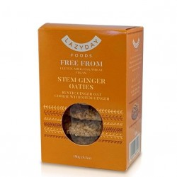 Stem Ginger Oaties | Vegan & Gluten Free (4 packs)