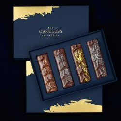 Luxury Chocolate Bars | Black Collection (Box of 4)