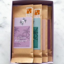 72% Award-Winning Single Origin Bean-to-Bar Vegan Chocolate Bundle (4 Bars)