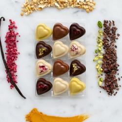 Vegan Chocolate Hearts Gift Box