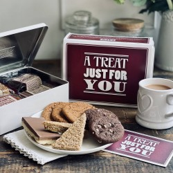 A Treat Just For You Tin Of Baked Treats