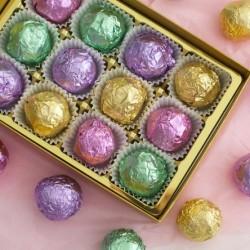 Luxury chocolate truffle assortment