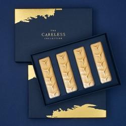 Luxury Chocolate Bars   Caramelised White Chocolate (Box of 4)