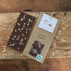 Salted Peanut Chocolate Bars | Set of 3 Bars