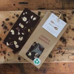 Dark Coffee & Hazelnut Dairy Free Dark Chocolate Bars | Set of 3