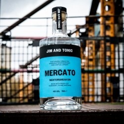Mercato Mediterranean Gin by Jim and Tonic