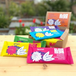 5 flavours - Handmade Plant Protein Snack Bars (Box of 15)