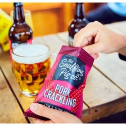 Beer & BBQ Pork Crackling Gift Set