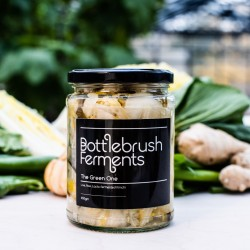 Raw & Lacto-Fermented Kimchi | The Green One (500g)