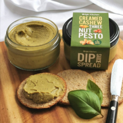 Creamed Cashew, Vegan Dip Sauce Spread | Three Nut Pesto (Pack of 3)