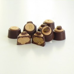 Cappuccino Fondants - Personalised Coffee Flavour Chocolates