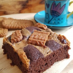 Vegan Biscoff Brownies (Box of 6)