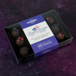 Rose & Violet Creams Box of 24)