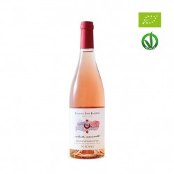organic rose' wine