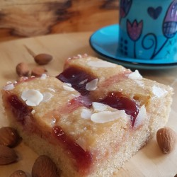 Vegan Bakewell Blondies (Box of 6)
