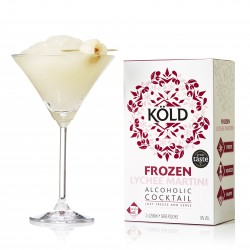Frozen Lychee Martini Cocktail Pouches