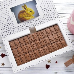 Chocolate Easter Card